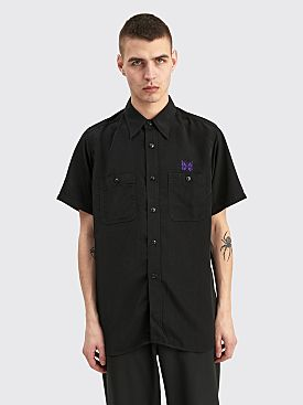Needles Papillon Work Shirt Black