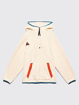 Nike ACG Sherpa Fleece Hooded Sweatshirt Light Cream
