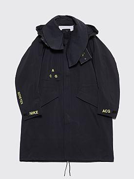 NikeLab ACG Goretex Coat Black / Reflective Silver
