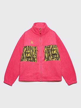 Nike ACG Fleece Jacket Rush Pink / Opti Yellow