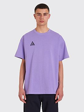 Nike ACG NRG Logo Short Sleeve T-shirt Space Purple