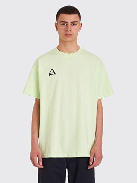 Nike ACG NRG Logo Short Sleeve T-shirt Barely Volt