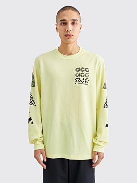 Nike ACG LS GX Waffle T-shirt Luminous Green