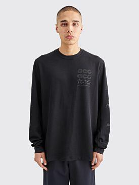 Nike ACG LS GX Waffle T-shirt Black