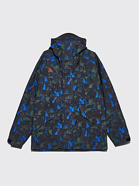 Nike ACG Hooded Gore-Tex Jacket Print Racer Blue / Habanero Red