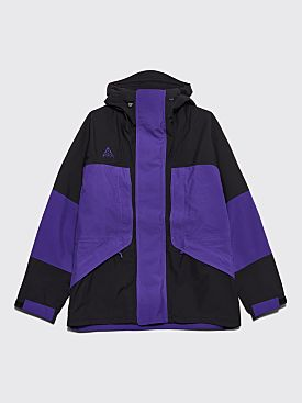 Nike ACG Hooded Gore-Tex Jacket Black / Court Purple
