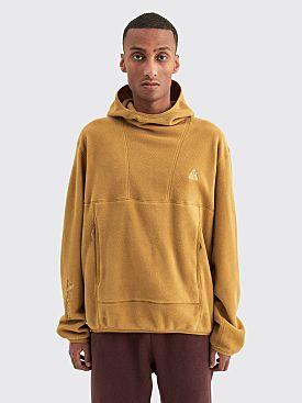 Nike ACG Polartec Fleece Pullover Hoodie Golden Beige