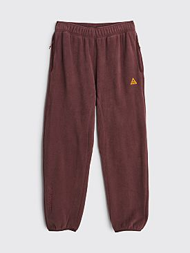 Nike ACG Polartec Fleece Pants Deep Burgundy