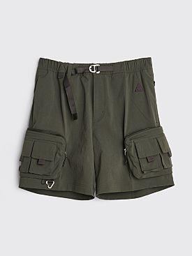 Nike ACG Cargo Shorts Sequoia / Cave Purple