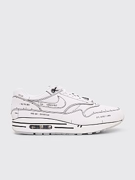 Nike Air Max 1 Sketch To Shelf White / White