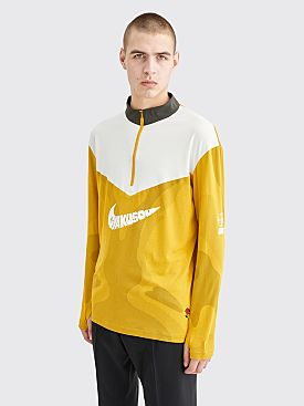Nike Gyakusou Half Zip LS Top Mineral Yellow