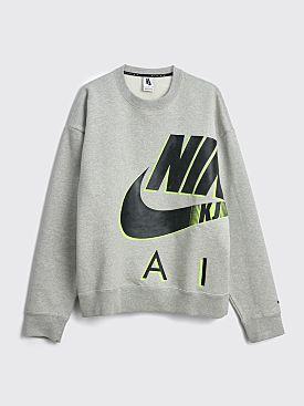 Nike x Kim Jones Fleece Sweatshirt Grey Heather