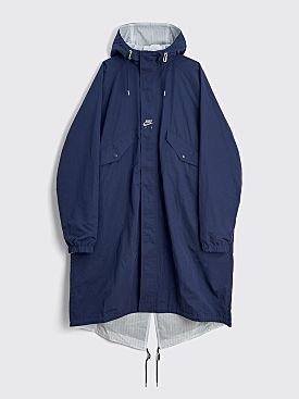 Nike x Kim Jones Reversible Parka Jacket Navy / White