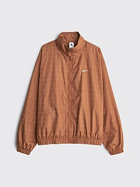 NikeLab Flash Track Jacket Brown