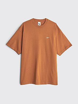 NikeLab Solo Swoosh T-shirt Brown