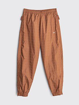 NikeLab Flash Track Pants Brown