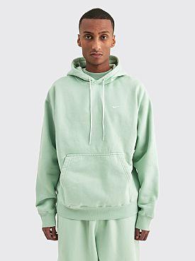 NikeLab Washed Fleece Hooded Sweatshirt Pistachio Frost