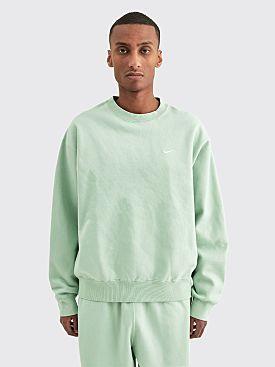 NikeLab Washed Fleece Sweatshirt Pistachio Frost