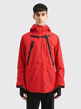 Nike x MMW 3-Layer Hooded Nylon Jacket University Red