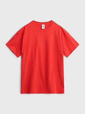 Nike x MMW NRG T-shirt Red