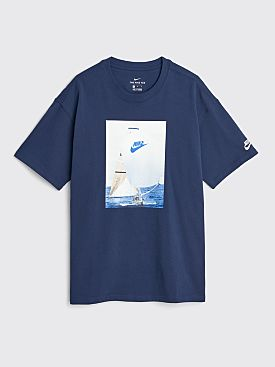 Nike Reissue T-shirt Midnight Navy