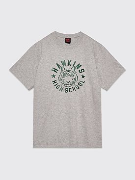 Nike x Stranger Things T-shirt Dark Grey Heather / Fir