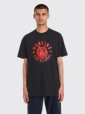 Nike x Stranger Things T-shirt Black / University Red