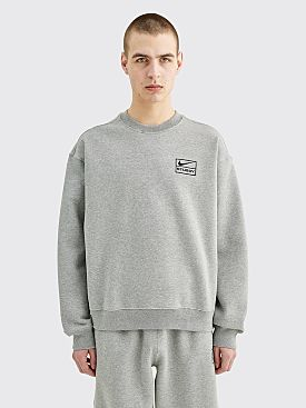 Nike x Stüssy Fleece Sweater Grey