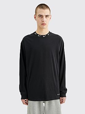 Nike x Stüssy LS Knit Top Black