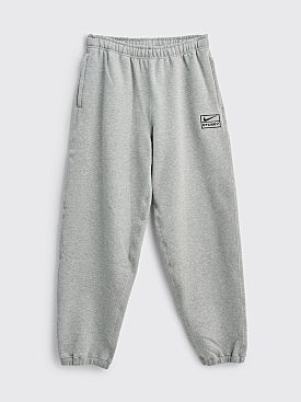 Nike x Stüssy Fleece Pants Grey
