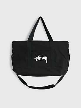 Nike x Stüssy Large Cotton Canvas Tote Black