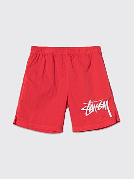 Nike x Stüssy Water Shorts Habanero Red