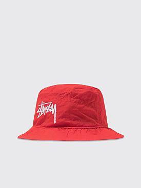 Nike x Stüssy Bucket Hat Habanero Red