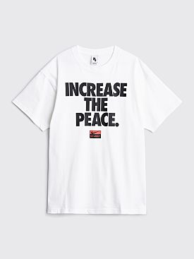 Nike x Stüssy Increase The Peace T-shirt White