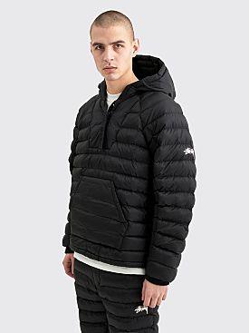 Nike x Stüssy Insulated Nylon Pullover Jacket Black
