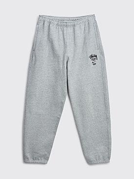 Nike x Stüssy Fleece Pants Dk Heather Grey