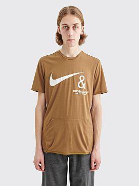 Nike x Undercover NRG Pocket T-shirt Lichen Brown