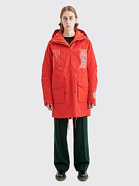 Nike x Undercover NRG 3L Parka Jacket Red