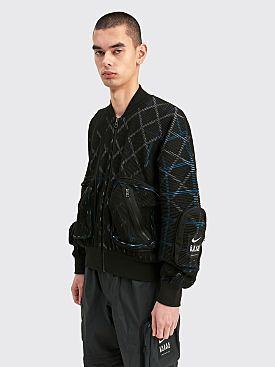 Nike x Undercover Knit MA-1 Bomber Jacket Black