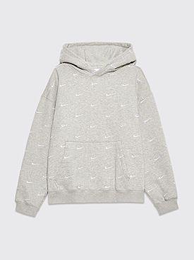 Nike NRG Swoosh Logo Hooded Sweatshirt Grey
