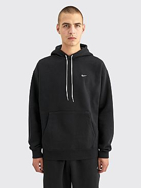 NikeLab Hooded Fleece Sweatshirt Black