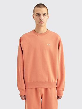 NikeLab Fleece Sweatshirt Healing Orange