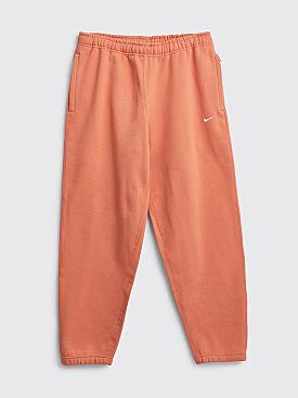 NikeLab Fleece Pants Healing Orange