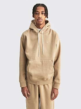 NikeLab Hooded Fleece Sweatshirt Khaki