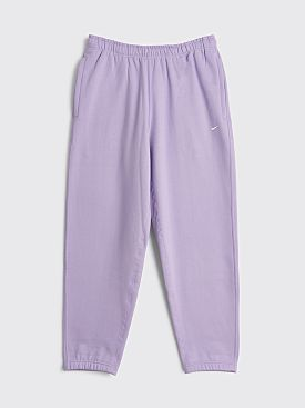 NikeLab Fleece Pants Urban Lilac