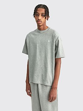 NikeLab Solo Swoosh T-shirt Grey Heather