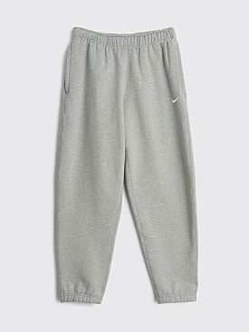 NikeLab Fleece Pants Grey Heather