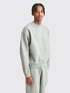 NikeLab Fleece Sweatshirt Grey Heather