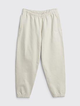 NikeLab Solo Swoosh Fleece Pants Light Bone