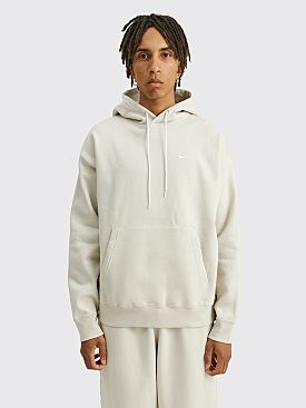 NikeLab Solo Swoosh Fleece Hoodie Light Bone